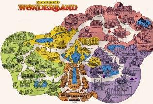 wonderland 1981 map