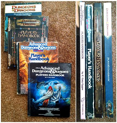 D&D editions